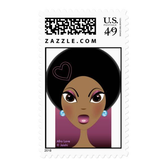 Afro Love Postage