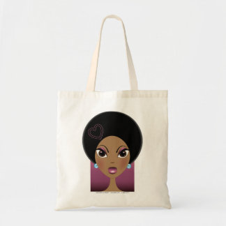 Afro Love Tote Bag
