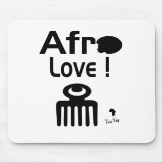 Afro Love with  DUAFE Mouse Pad