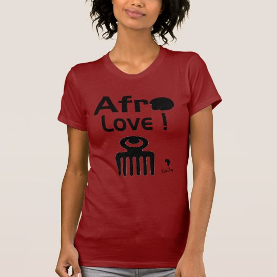 Afro Love with  DUAFE T-Shirt