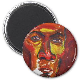 Afro Refrigerator Magnet