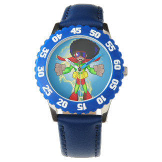 AFRO-MAN KNOWLEDGE IS POWER WATCH