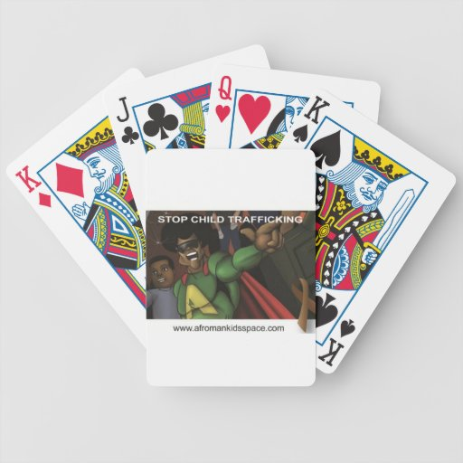 Afro-man Playing cards