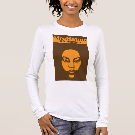 Afro Nation African Art Heritage Long Sleeve T-Shirt