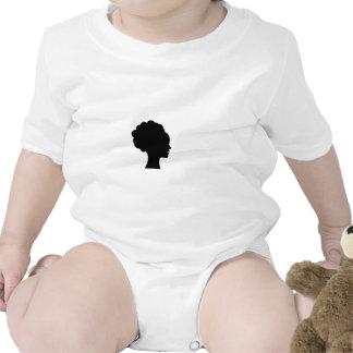 Afro natural traje de bebé