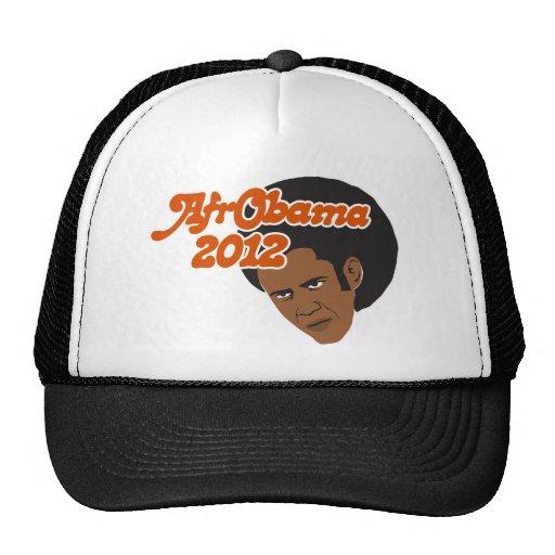 Afro Obama Mesh Hats