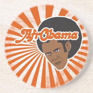 Afro Obama Sandstone Coaster
