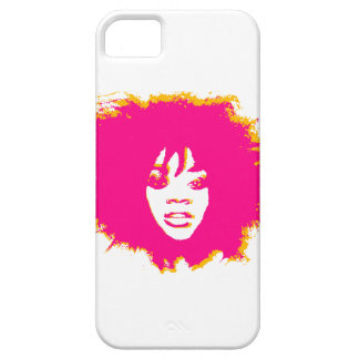 Afro Pink iPhone SE/5/5s Case