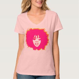Afro Pink T-Shirt