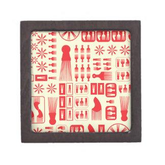 Afro Puff Jewelry Box