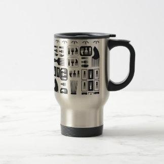Afro Puff Coffee Mugs