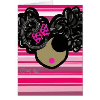 Afro Puffs Card