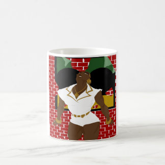 Afro Puffs Pinups 4 (Sketchbook Pro) Coffee Mug
