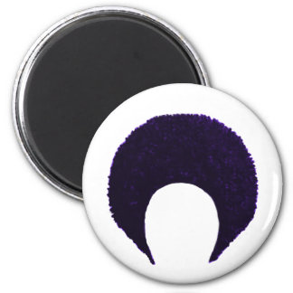 Afro Purple The MUSEUM Zazzle Gifts Refrigerator Magnets