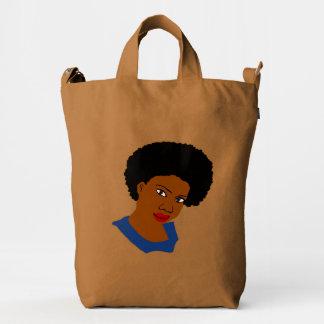 Afro Queen Diva Duck Bag