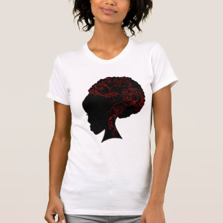 AFRO RED TEE SHIRTS