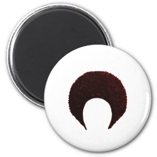Afro Red The MUSEUM Zazzle Gifts Magnets