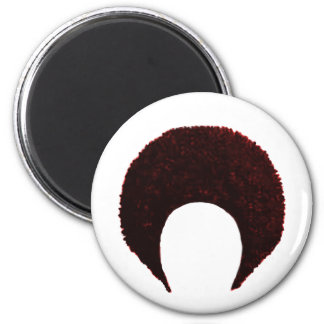 Afro Red The MUSEUM Zazzle Gifts Fridge Magnet