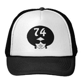 Afro Retro 74 Lady T-Shirt Trucker Hat