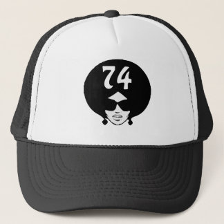 Afro Retro 74 Lady T-Shirt Trucker Hat