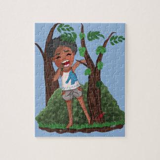 Afro servant boy! jigsaw puzzle