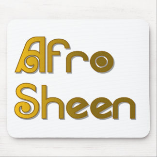 Afro Sheen Sist- gold Mouse Pad