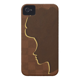 Afro Silhouette iPhone 4 Case-Mate ID iPhone 4 Case-Mate Case