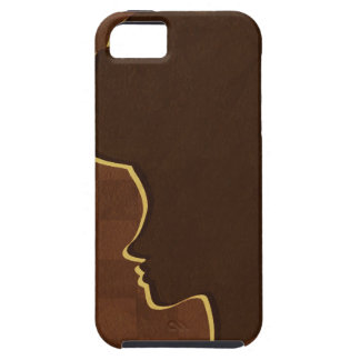 Afro Silhouette iPhone 5 Case-Mate Tough iPhone 5 Cover