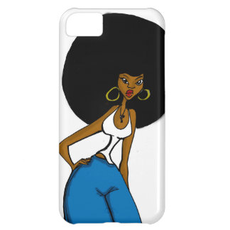 afro sister iphone case iPhone 5C case
