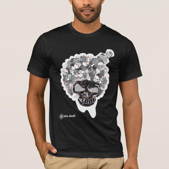 AFRO SKULL 2-W T-Shirt