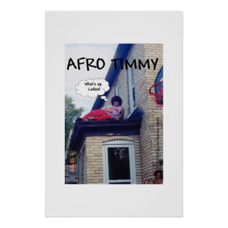 AFRO TIMMY PÓSTER