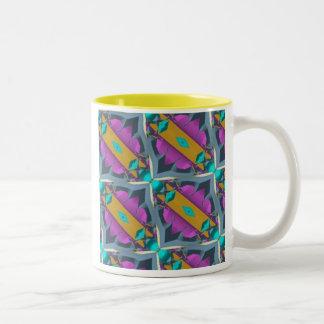 Afro Two-Tone Coffee Mug
