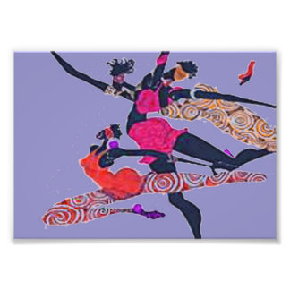 AFRO WIND DANCERS BY AFRO-FUSION PHOTO PRINT