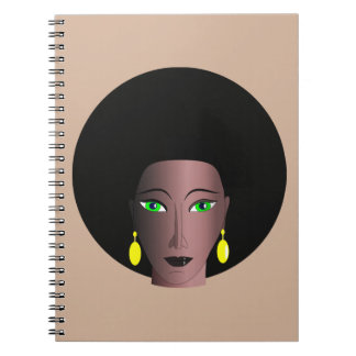 AFRO WOMAN Photo Notebook