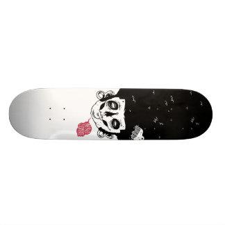 afro zombie skateboard decks