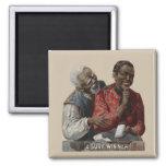 Afroamericano 1895 del anuncio del cigarro del imán de frigorífico