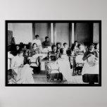 Afroamericano 1900 de la costurera impresiones