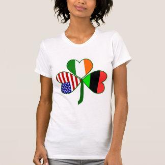 Afroamericano Shamrock.png Camisetas