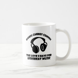 Afrobeat Music designs Coffee Mug