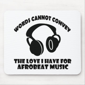 Afrobeat Music designs Mouse Pad