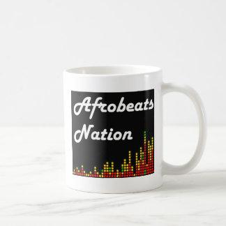 Afrobeats Nation Logo Classic White Coffee Mug