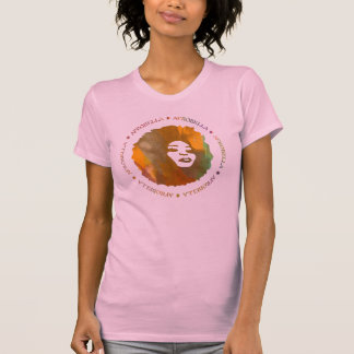 Afrobella In Pink T-Shirt