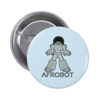 Afrobot - Robot with Afro Button