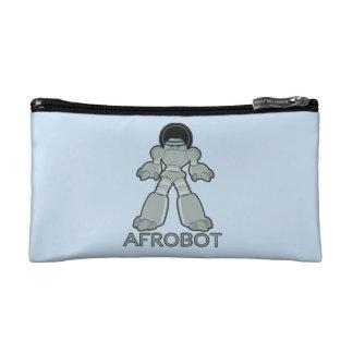 Afrobot - Robot with Afro Makeup Bag