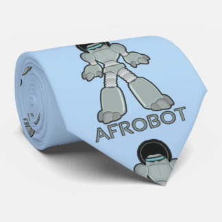 Afrobot - Robot with Afro Tie
