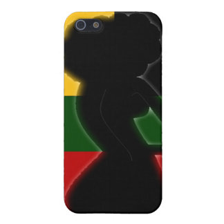 AFROcan Lady iPhone Case