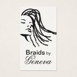 Native american business cards templates zazzle afrocentric braids hair stylist black business card colourmoves Choice Image