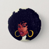Afrocentric Button