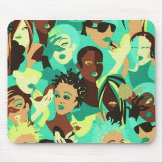 Afrocentric Fashion Laptop/Diaper Mouse Pad