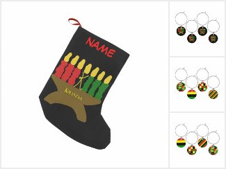 Afrocentric - Red, Yellow, Black and Green art
